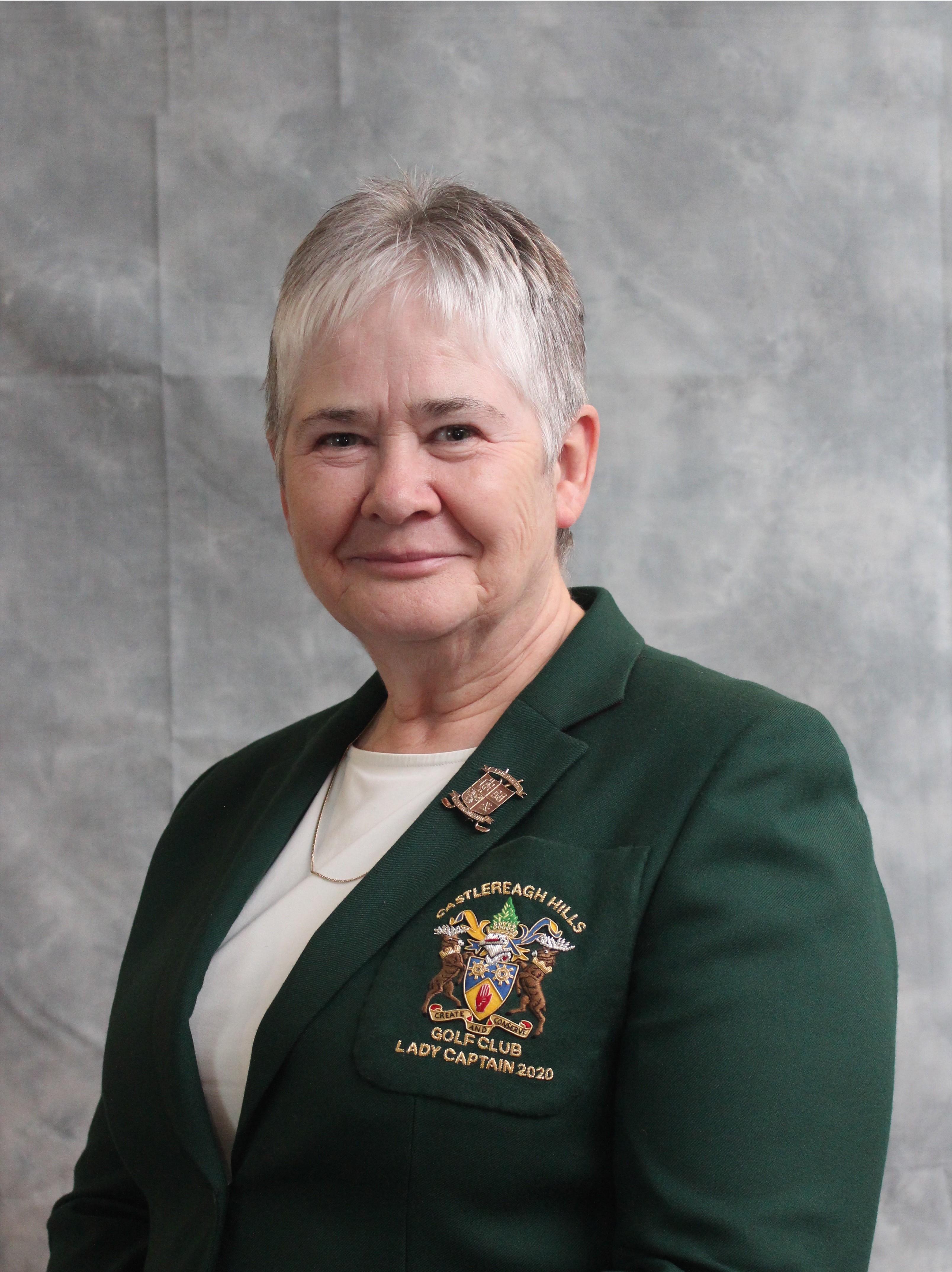 Castlereagh Hills Golf Club Lady Captain - Geraldine Haire